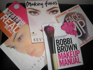 Find great makeup, skin care tips & looks in these books!