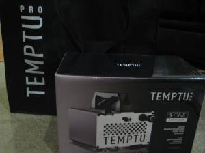 temptu pro s-one compressor ($220) with the cleanser and S/B 12 kit foundation set