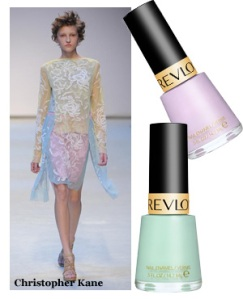 Love these ice cream shades by Max Factor in Minted and Lilac Pastelle