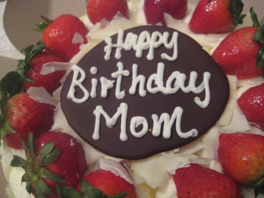 celebrate Mom's Birthday