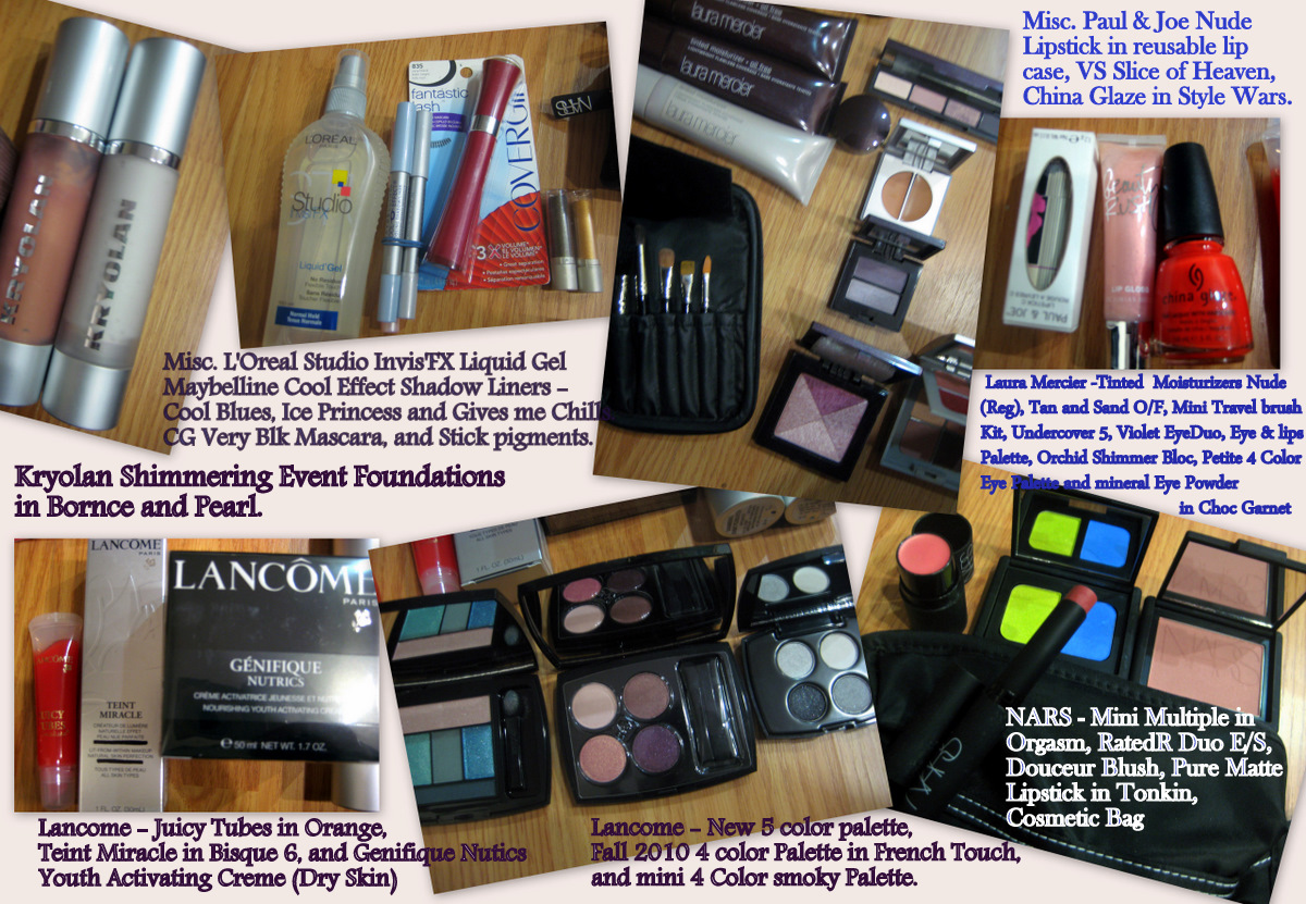 makeup moving sale