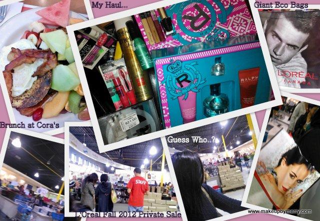 L'Oreal Fall 2012 private sale