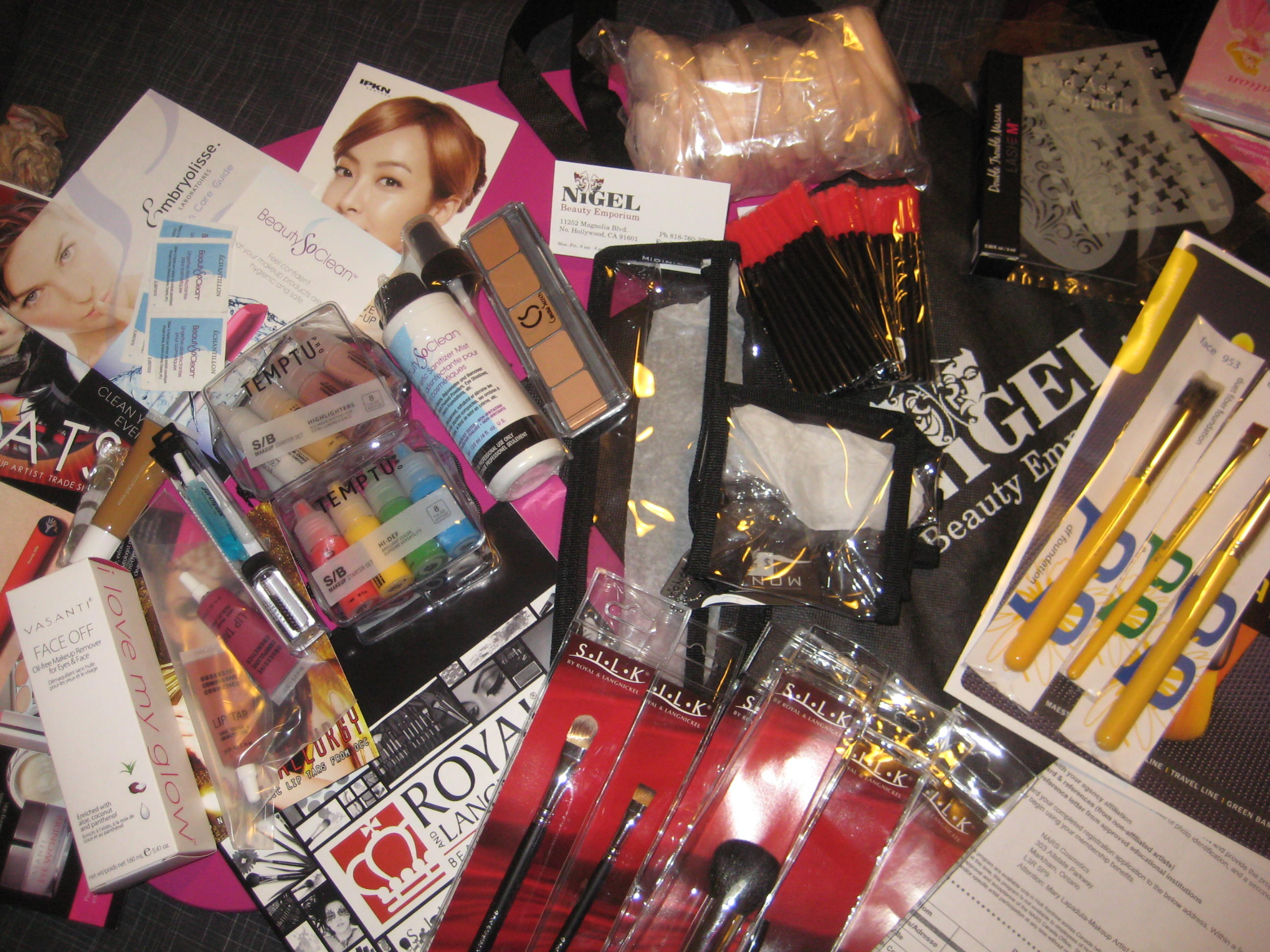 MakeupBYMerry's IMATS 2012 Haul