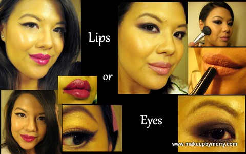 Holiday 2012 Looks, Eyes or Lips, makeupByMerry