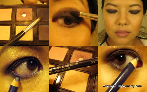 Laura Mercier 6 pan custom eyeshaow palette, African Violet, and Deep Night, MakeupByMerry