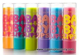 Makeupbymerry beauty gift ideas, lipbalms