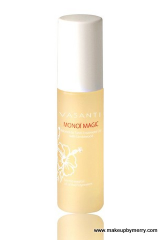 Vasanti Cosmetics Monoi Magic Oil Stocking Stuffer Ideas MakeupByMerry